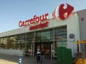Carrefour - Sitges largest supermarket