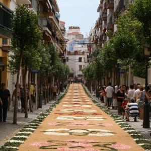 Sitges Corpus Christi Flower Carpets Festival