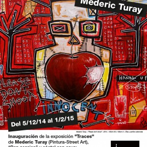 Traces Turay Mederic Sitges Exhibition 2014